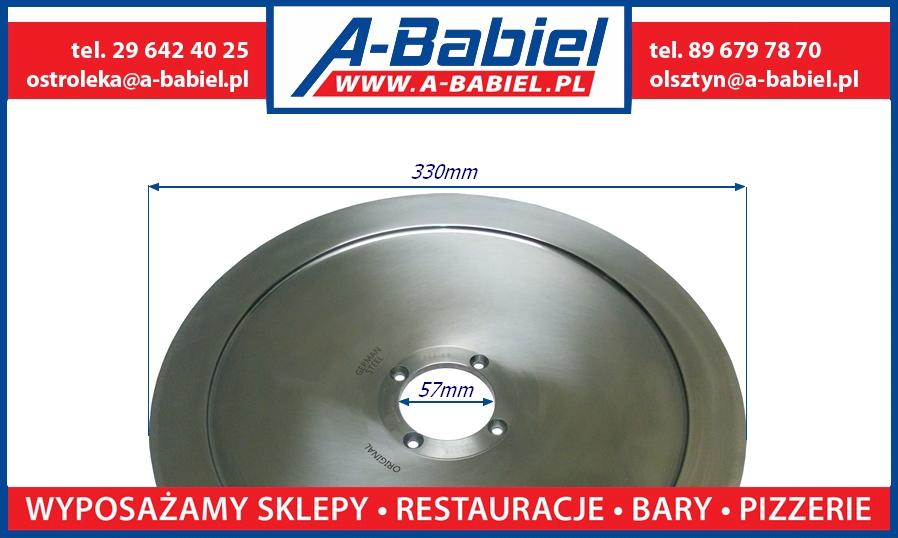A-Babiel - Nóż do krajalnicy Bizerba do wędlin 330mm 94001000014 - Olsztyn, Ostrołęka, Katowice, Bydgoszcz, Warszawa, Gdańsk, Wrocław, Olx