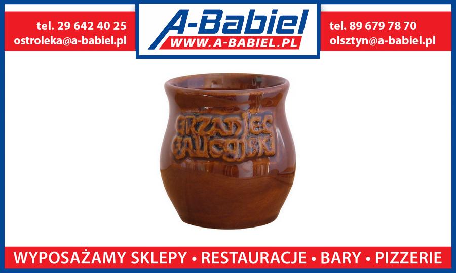 Kubek do grzańca, grzanego wina A-Babiel Olsztyn